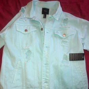 FOREVER 21 JEAN JACKET (BRAND NEW NEVER WORN)